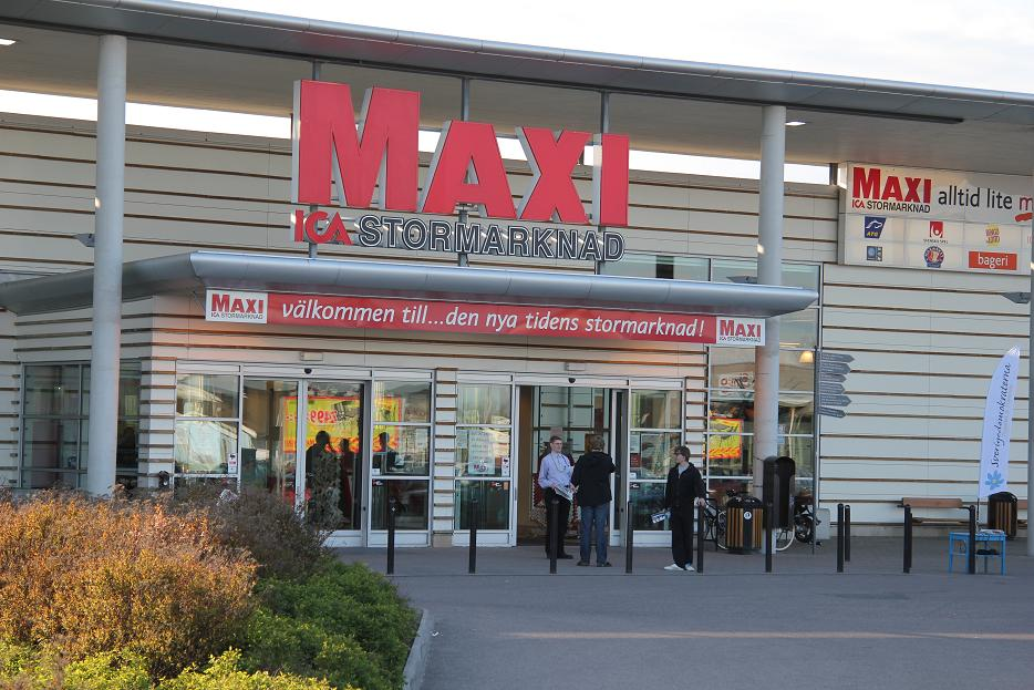 ICA MAXI GÖTEBORG ÖPPETTIDER